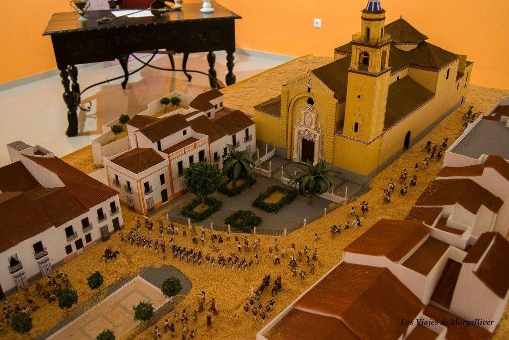 Maqueta de larecreacion de la batalla del 2 mayo en Algodonales - Los viajes de Margallvier